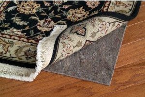 9' x 12' Area Rug Pad Reversible with Non-Slip Rubber Backing