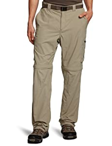 Columbia Silver Ridge Convertible Pant- Extended (42x34, Tusk) by Columbia