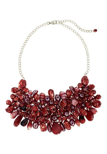 APART Fashion - Necklace - red-multicoloured, one size