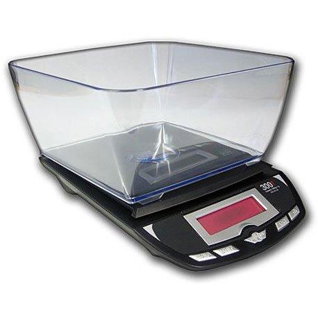 My peser 3001P postaux et de cuisine - 3 kg - 3001, mon poids : 3 kg/1 g-Noir