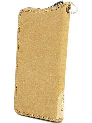 [コルボ] CORBO. 長財布 ラウンドファスナー アコーディオン型 8LA-0503 Roll of notes ロールオブノーツシリーズ ベージュ CO-8LA-0503-03