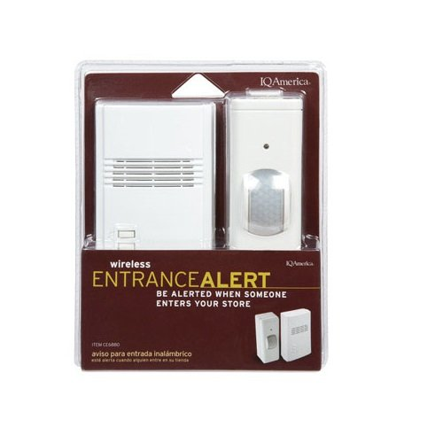 Iq America Ce-6880 Wireless Commercial Entrance Alert, 120 Volt (Iq America Wireless Doorbell compare prices)