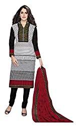 Sree Impex Women's Cotton Unstitched Dress Material (SI-CO-9_Multi_Free Size)