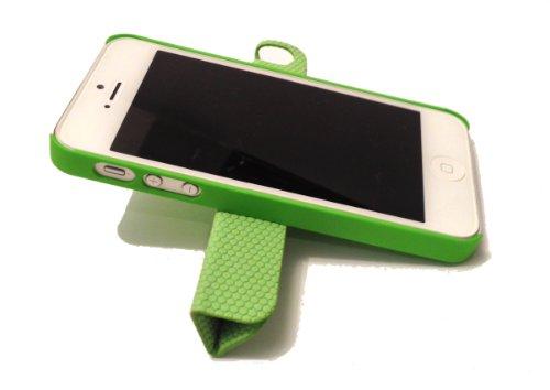 CUOER Tailor-made patentiertes iPhone 5 ,5s Case, Hülle, Cover , mit magnetischer Funktion, anbringbar an Kühlschrank Grün