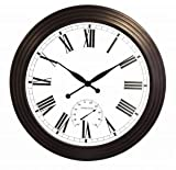 Giant Outdoor Clock - Antique Brown - 69cm (27.2
