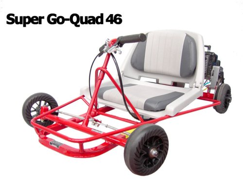Go-Ped Super Go Quad 46 Gas Powered Mini-Kart