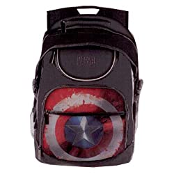 BB Designs MC-CWBP-05 Civil War Captain America Shield Student Backpack