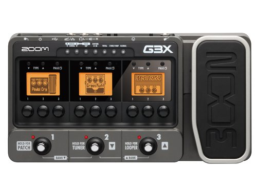 G3X guitar amp simulator effect for ZOOMing (Japan Import)