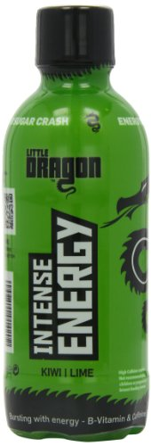 Little Dragon 375ml Intense Energy Drink Kiwi Lime Flavour - Pack of 12