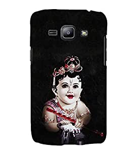 EPICCASE Baby krishna god Mobile Back Case Cover For Samsung Galaxy J1 (Designer Case)