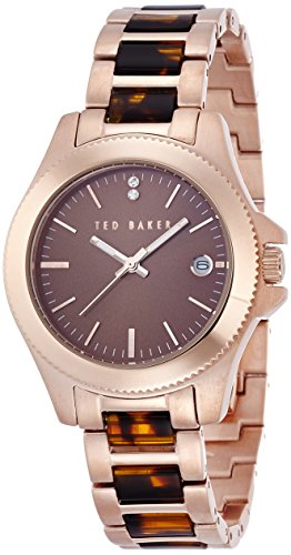 Ted Baker Three-Hand Stainless Steel - Rose-Gold Women's watch #TE4100
