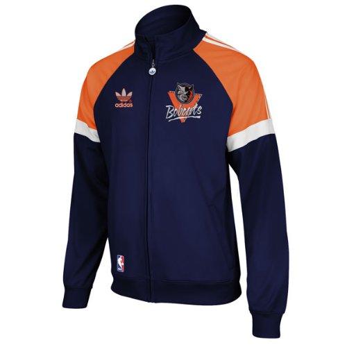 Adidas Charlotte Bobcats Vintage Warm Up Track Jacket - size S (Adidas Vintage Jacket compare prices)