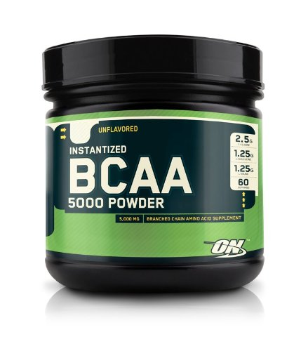 Optimum Nutrition Instantized Bcaa 5000 Powder 60 Srving Branched Chain Amino Acids Supports Muscle Recovery