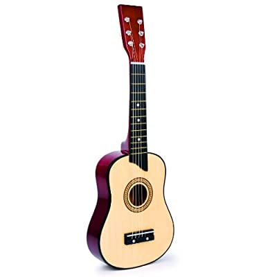 Childrens Wooden Guitar Musical Toy Instrument 64cm