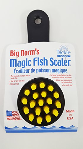 Big Norm's Magic Fish Scaler (Black)