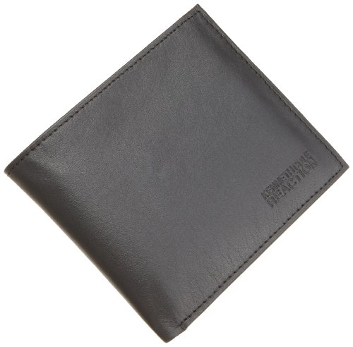 Kenneth Cole REACTION Men's Passcase Wallet,Black,One Size