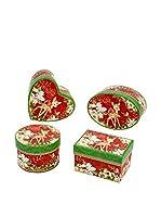 Decoracion Navideña Set Caja 4 Uds. Navidad