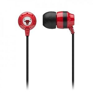 Skullcandy S2IKDZ-164 Ink'd 2.0 Chicago Bulls Earbud Headphone