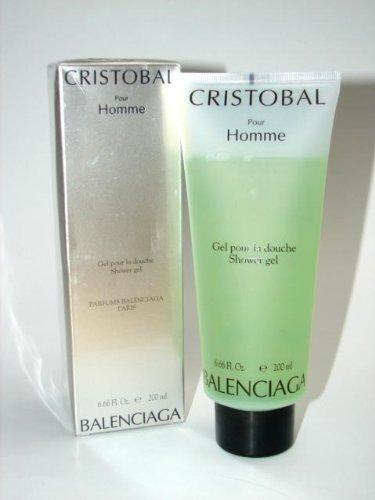 Cristobal Pour Homme by Balenciaga for Men 6.6 oz Shower Gel by Balenciaga