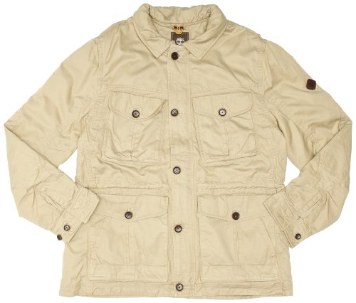 Timberland Vintage Broken Twill Men's Jacket British Khaki XX-Large