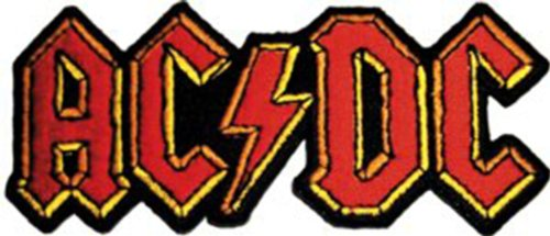 Application AC/DC Logo Patch