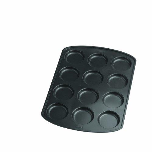 Wilton Premium Nonstick Muffin Top Pan, 12-Cavity