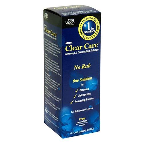 CIBA Vision Clear Care Nettoyage et désinfection