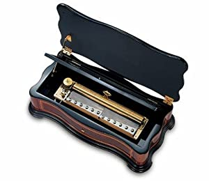 Extravagent Reuge 1865 Collection Music Box with 3.144 Movement