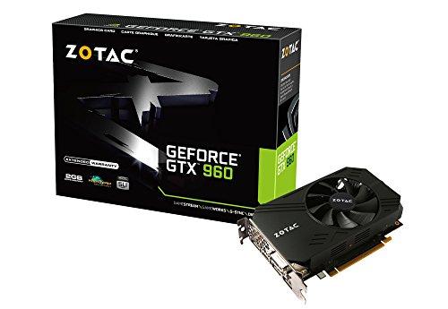 ZOTAC GeForce GTX 960 ITX Compact Aモデル  174mmショート 4画面出力  グラフィックスボード VD5728 ZTGTX96-2GD5ITX02A