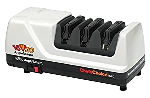 Chef's Choice Model 1520 AngleSelect Diamond Hone Knife Sharpener-White