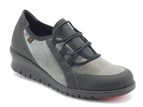 Sneakers Cinzia Soft per donna in tessuto tecnico nero (Taglia 41)