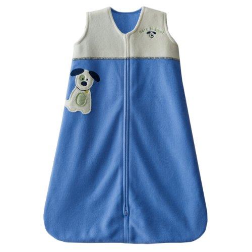 Halo Sleepsack Applique Micro-Fleece Wearable Blanket, Blue, Large