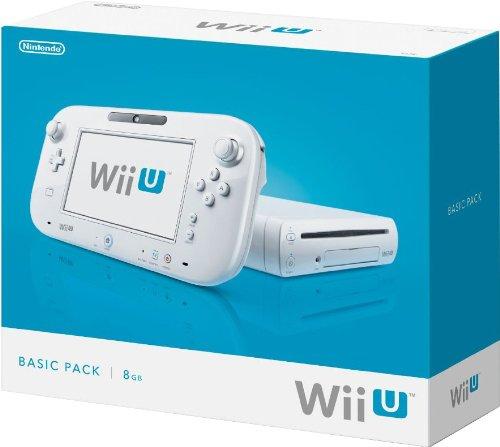 Nintendo Wii U 8GB Basic Pack - White