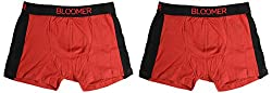 Bloomer Clothings Men Cotton Trunk (style_3038_2RD_L, Red, L) (Pack of 2)