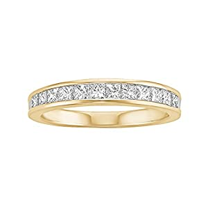 3/4 ct. tw. Diamond Anniversary Ring in 14K Yellow Gold (Size 6.5)