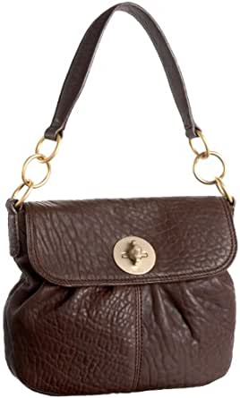 Stuart Weitzman Collection Soho Hudson Small Cross-Body,Brown,one size