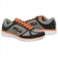 フィラ Athletics Fila Men's SPEEDWEAVE RUN Grey Orange 男性 メンズ 靴 シューズ 並行輸入