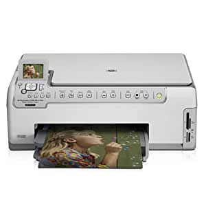 HP Photosmart C5180 All-in-One Printer, Scanner, Copier (#Q8220A)