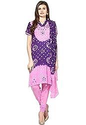 Soundarya Ethnicwear Mirror work Cotton Dress Material for Women (BS7)