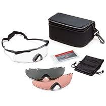 Smith Optics Elite Aegis Echo Eyeshields, Clear/Gray/Ignitor, Black