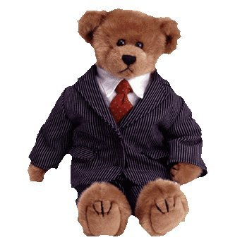 """TY Attic Treasure - WILLIAM the Bear (large approx. 12"""")"""