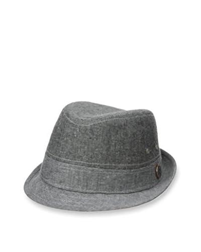 Ben Sherman Men's Cotton Linen Fedora Hat