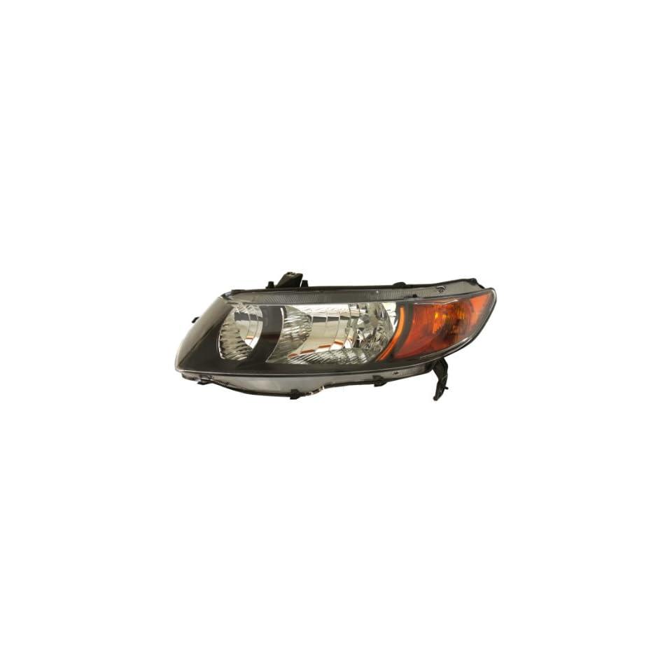 Genuine Honda Parts 33151 SVA A01 Driver Side Headlight Lens/Housing