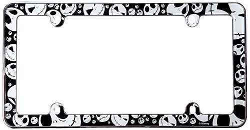 Chroma 6041 Nightmare Before Christmas Jack Plastic Frame (Nightmare License Plate Frame compare prices)