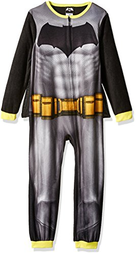 DC Comics Boys' Big Boys' Batman Fleece Blanket Sleeper W/ Cape at Gotham City Store