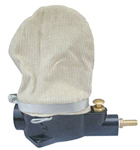 Spark Plug Cleaner Pneumatic Media Blaster w/ Abrasive and Brass Inlet Fitting