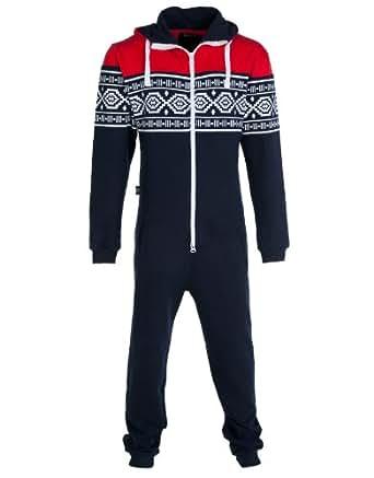 Dirty roller ski mens onesie dark blue mens large for Mens dress shirt onesie