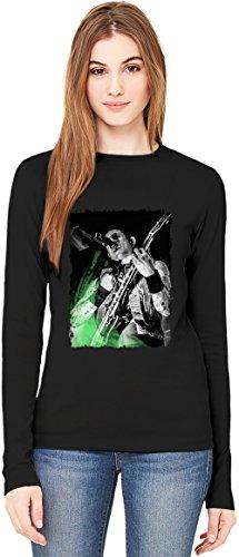 Trivium Stage Perform T-Shirt da Donna a Maniche Lunghe Long-Sleeve T-shirt For Women| 100% Premium Cotton Ultimate Comfort XX-Large