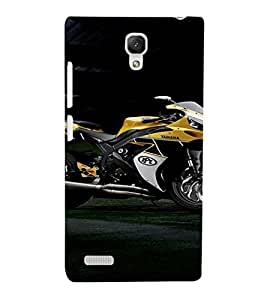 EPICCASE Yamaha Cases Mobile Back Case Cover For Xiaomi Redmi Note (Designer Case)