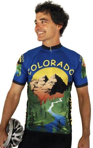 Buy Low Price Colorado Short Sleeve Cycling Jersey (B008VMVVPC)